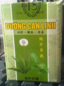 Duong Can Linh Acne Tablets