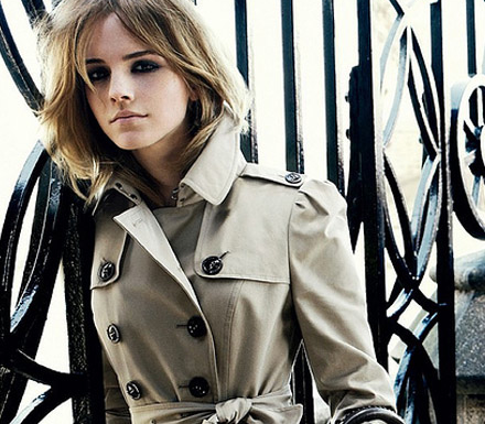 emma watson burberry 2011. Emma Watson for Burberry#39;s